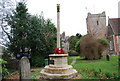 SU7433 : War Memorial, St Mary's Church, Selborne by N Chadwick
