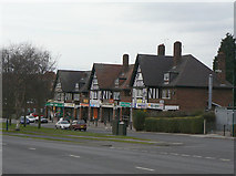 SK5644 : Shops on Arnold Road by Alan Murray-Rust
