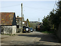 ST6762 : 2009 : Main Street, Stanton Prior by Maurice Pullin
