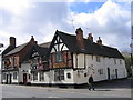 SO9570 : Ye Olde Black Cross Public House, Bromsgrove by Roy Hughes