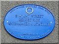 Photo of George Rice blue plaque