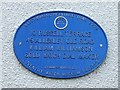 Photo of William Williamson blue plaque