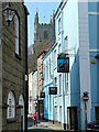 SX1251 : The narrow streets of Fowey by Jonathan Billinger