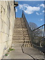 ST5672 : Stairway ascending Royal York Crescent : Week 15