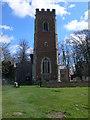 TL1965 : St Lawrence's Church, Diddington by Eirian Evans