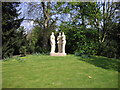 TQ2877 : Henry Moores Three Standing Figures Battersea Park by PAUL FARMER