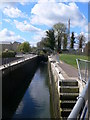 TL1861 : St Neots Lock No.9 by Eirian Evans