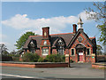 SJ7255 : Former village school, Crewe Green by Stephen Craven