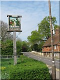 TQ7843 : Staplehurst Village Sign by David Anstiss