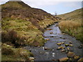 SH9925 : At the confluence of the Nant Lwyd and the Afon Cedig : Week 16