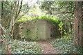 SU4596 : Pillbox over the wall by Bill Nicholls