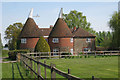 TQ6356 : Lambards Oast, Comp Lane, Platt, Kent by Oast House Archive