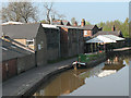 SJ7065 : Canal shop, Middlewich by Stephen Craven