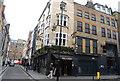 TQ2981 : Dog & Duck, Bateman St & Firth St, Soho by N Chadwick