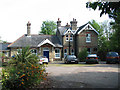 TG2620 : Coltishall Railway Station - now a B&B establishment by Evelyn Simak