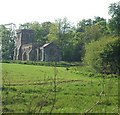 SP9529 : Battlesden Church across Battlesden Park by Rob Farrow