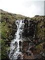 L8568 : Sheeffry Hills - waterfall on the south flank by Keith Salvesen