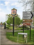 TQ8833 : Tenterden Village Sign by David Anstiss