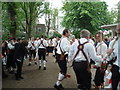 TQ3104 : Morris Dancers in the Pavilion Gardens by Paul Gillett