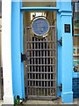 TQ8209 : Samuel Prout Plaque in Gate, George Street, Hastings by Oast House Archive