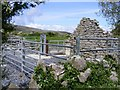 M2709 : Cattle pens and ruined cottage, Muckinish East Townland by Mac McCarron