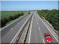 TL5559 : A14 looking west by Hugh Venables