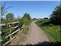 TL2094 : Cycle path from Farcet to Stanground by Michael Trolove