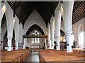 TQ2976 : Interior of Christ Church, Clapham by Stephen Craven
