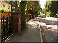 SZ0195 : Broadstone: postbox № BH18 58, Dunyeats Road by Chris Downer