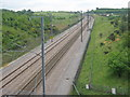 TQ9348 : CTRL towards Ashford by David Anstiss