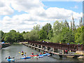 TL3213 : Kayaks on the Lea Navigation in Hertford by Stephen Craven