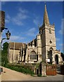 ST9168 : St Cyriac's church, Lacock by Derek Harper