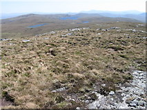 NC6615 : Above Leathad na Seamraig by Chris Wimbush