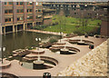 TQ3281 : Barbican centre terrace, 1984 by Stephen Craven
