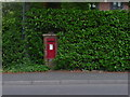 SZ0899 : Ferndown: postbox № BH22 92, New Road by Chris Downer