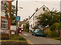 SY3693 : Charmouth: postbox № DT6 84, Old Lyme Hill by Chris Downer
