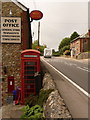 SY4093 : Morcombelake: postbox № DT6 54 by Chris Downer