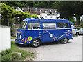 SO5615 : Flowery VW Camper by Pauline E