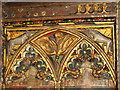 TM2293 : St Catherine's church - rood screen detail by Evelyn Simak