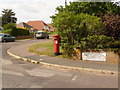 SY9288 : Wareham: postbox № BH20 166, Drax Avenue by Chris Downer