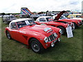 TL0960 : Austin Healeys at Bolnhurst Country Show by Michael Trolove