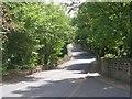 SE0838 : Narrow Lane - Harden Road by Betty Longbottom