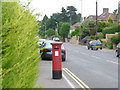 SZ0692 : Branksome: postbox № BH12 242, Surrey Road by Chris Downer