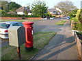 SZ0494 : Alderney: postbox № BH12 232, Evering Avenue by Chris Downer