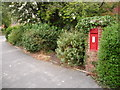 SZ1793 : Christchurch: postbox № BH23 66, Bingham Road by Chris Downer