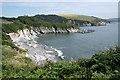 SX1050 : Fowey: towards Polridmouth : Week 26