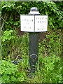 SJ6868 : Trent and Mersey Canal Milepost by Mike W Hallett