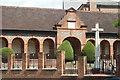 TQ1656 : War Memorial, Leatherhead, Surrey by Peter Trimming