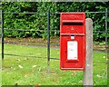 J2459 : Letter box, Hillsborough by Albert Bridge