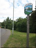 TR1760 : Sturry Village Sign by David Anstiss